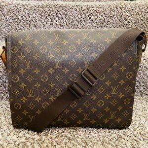 LV  Abbesses Brown Monogram Messenger Bag 11483